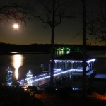 Lake Wylie Waterfront Home at Christmas